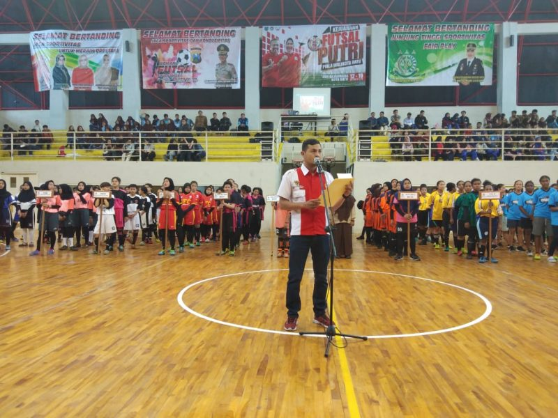 "Walikota Batu Tutup ""Woman Futsal Tournament"""