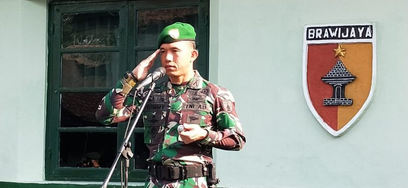 Dandim 0833 Kota Malang Ingatkan Anggota Hati-Hati Menggunakan Medsos