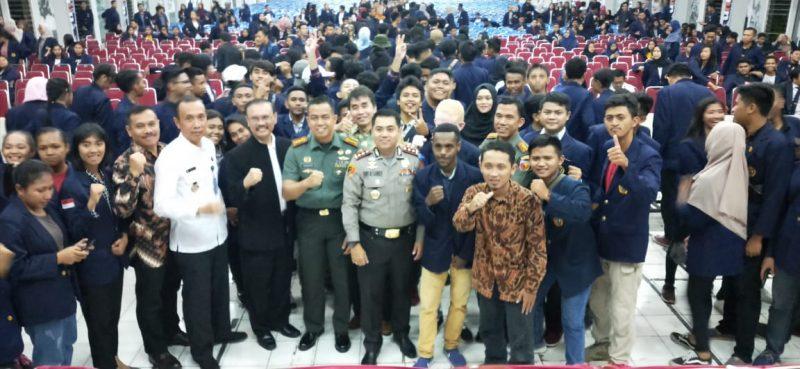 Unmer Malang Deklarasi refleksi Sumpah Pemuda guna menolak Faham Rasisme danRadikalisme