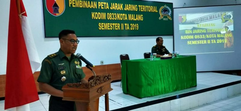 Kodim 0833/Kota Malang Inginkan TNI AD Dicintai dan Didukung Masyarakat