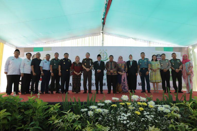 Dandim 0833 Hadiri Pisah Sambut Kepala Kejaksaan Negeri Kota Malang