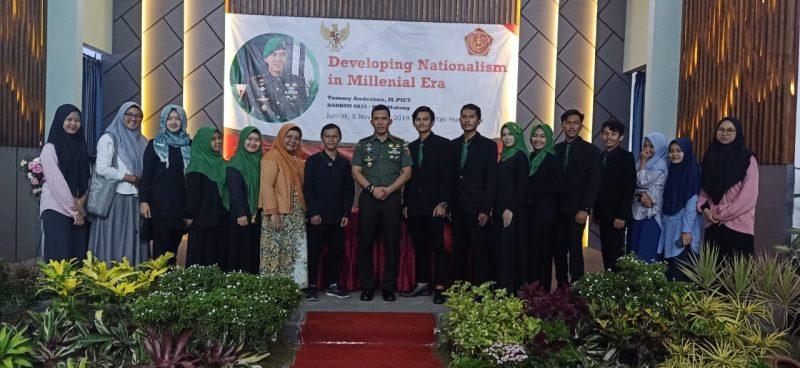 Dandim 0833 Kota Malang Berikan Materi Wawasan Kebangsaan di UIN Malang