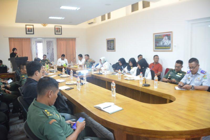 Lewat Olahraga Basket, Kasdim 0833/Kota Malang Ikuti Rakor Penguatan Fungsi Bimbingan Masyarakat