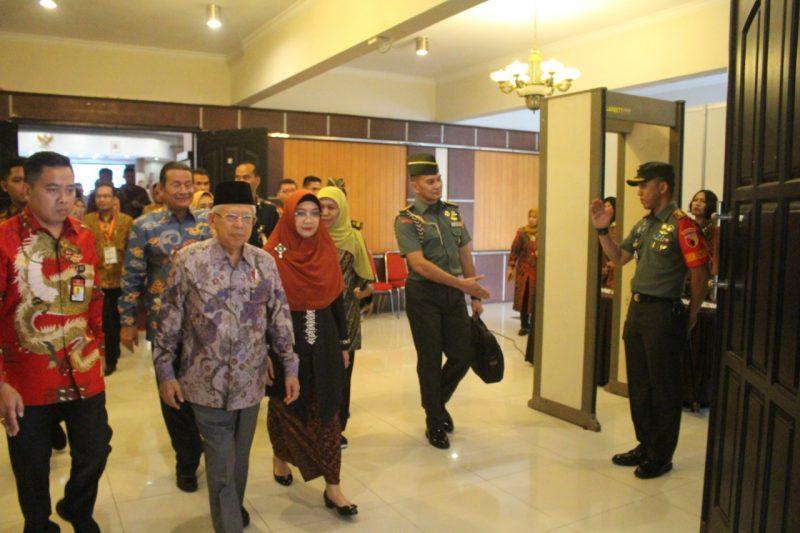 Wakil Presiden Prof. DR. HC. KH Ma'ruf Amin Kunjungi Kampus Universitas Brawijaya Malang