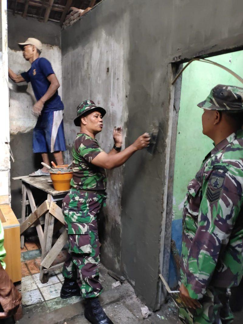 Kodim 0833/Kota Malang Bedah Rumah Warga