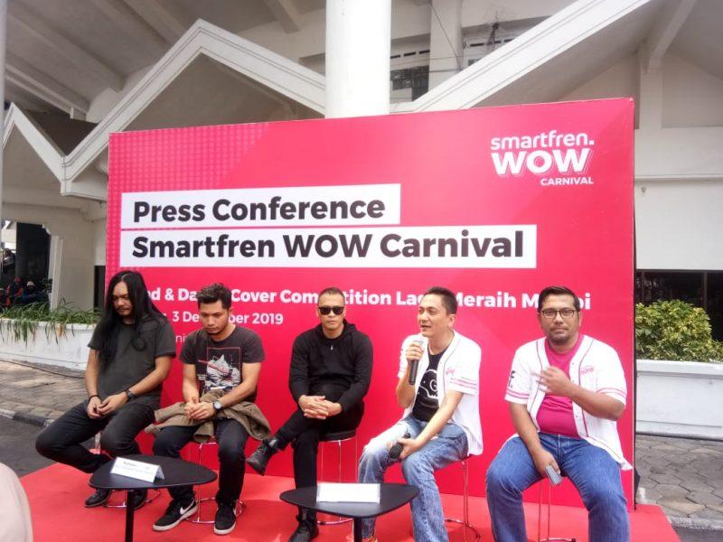 Andra and The Backbone Serta Salpriadi Meriahkan Smartfren Carnival di Malang