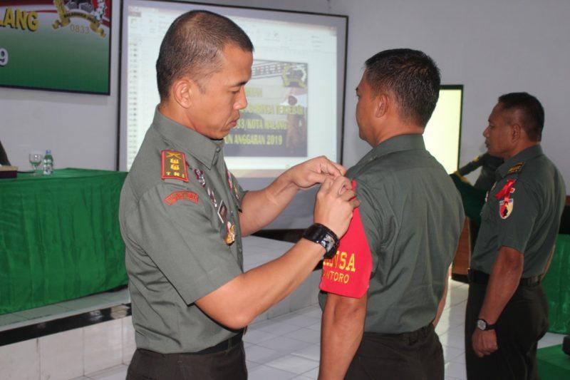 Dandim 0833/Kota Malang Buka Apel Danramil dan Babinsa Tersebar jajaran Kodim 0833/Kota Malang.