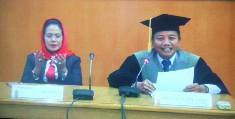 Mengangkat Koperasi SBW, Ketua Fraksi PDI Perjuangan Jawa Timur Meraih Gelar Doktor