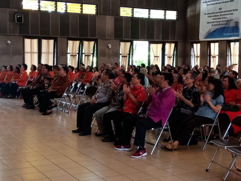 """Kasdim menghadiri Perayaan Natal Lansia """"Gracia"""" Bamag Malang"""