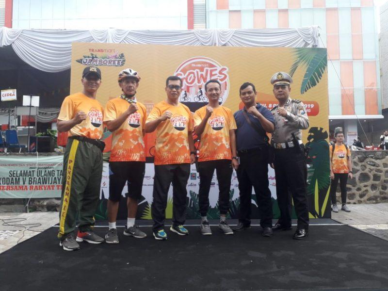 Gowes Transmart Jambore XXI Tahun 2019 di Kota Malang
