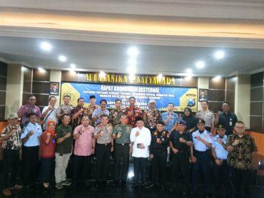 Waspadai Pergerakan Teroris, Polresta Malang dan Kodim 0833 Beri Garansi Keamanan Natal dan Tahun Baru