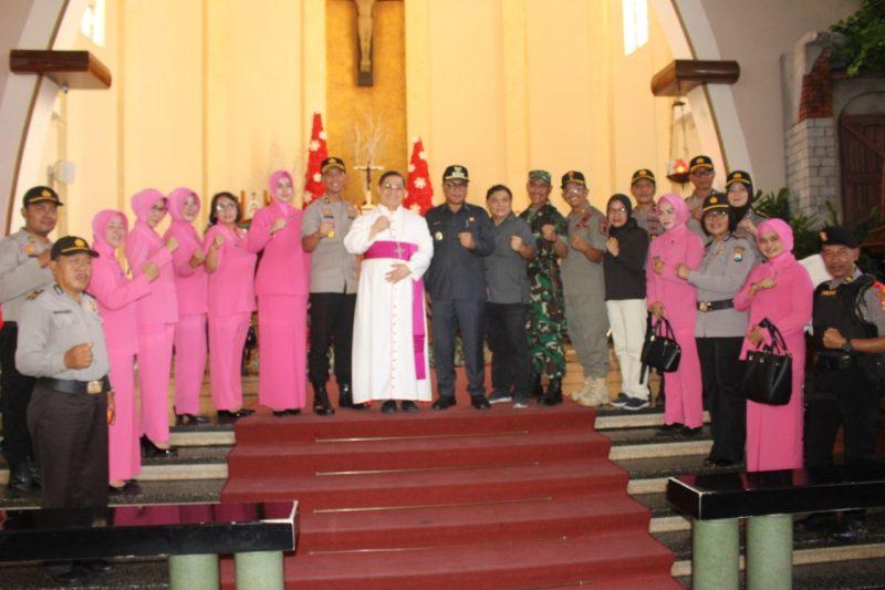 Forpimda Kota Malang Kunjungi Kesiapan Pam Natal dan Gereja