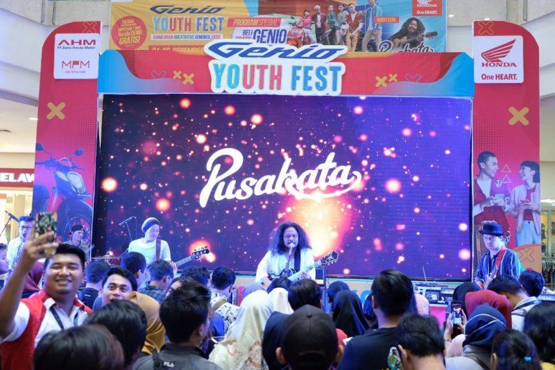 Keseruan Genio Youth Fest, Pulang Langsung Bawa Doorprize 1 Unit Genio