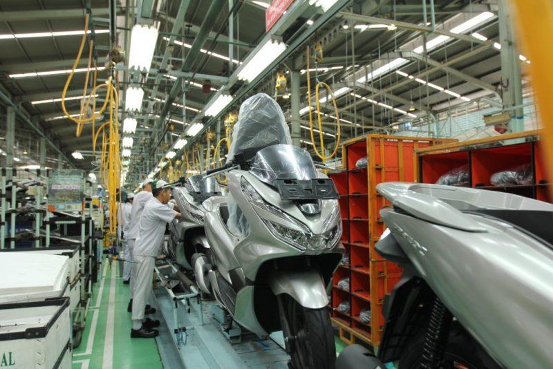 AHM Ekspor Honda PCX Hingga ke Brazil
