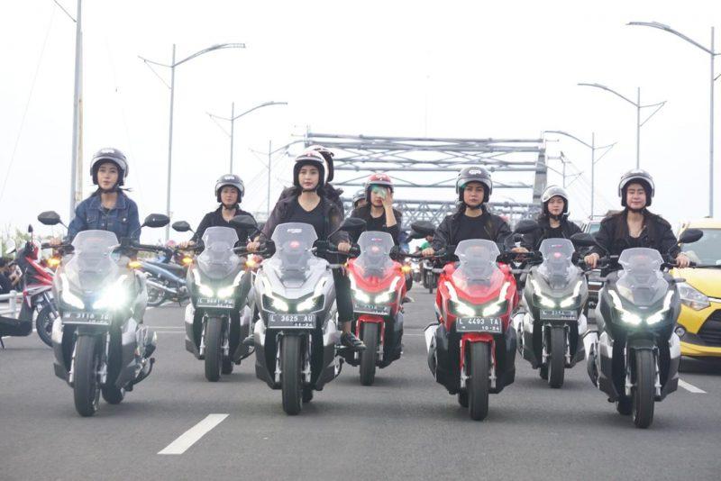 MPM Ajak Konsumen Honda ADV150 Keliling Kota Surabaya, Sebagai Bukti Nyaman Berkendara