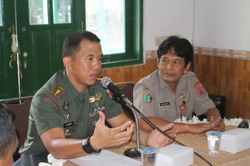 Dandim 0833/Kota Malang Pimpin Rakor Apel Penanggulangan Bencana Alam