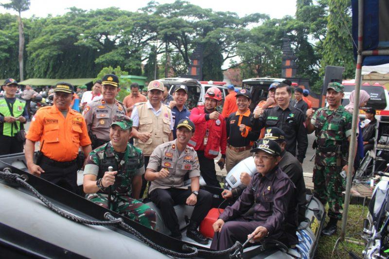 Walikota Malang Pimpin Apel Gelar Kesiapan Pasukan dan Do'a Bersama