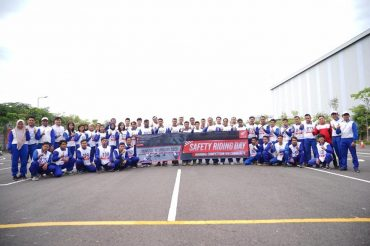 Komunitas Honda Malang Ikuti Safety Riding Day