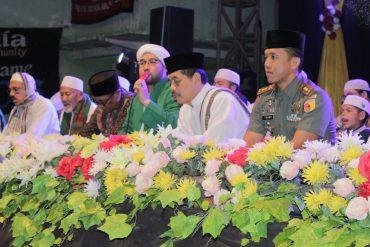 Dandim 0833/Kota Malang menghadiri pengajian umum dalam rangka Haul KH. Malik (Pahlawan Kemerdekaan RI)