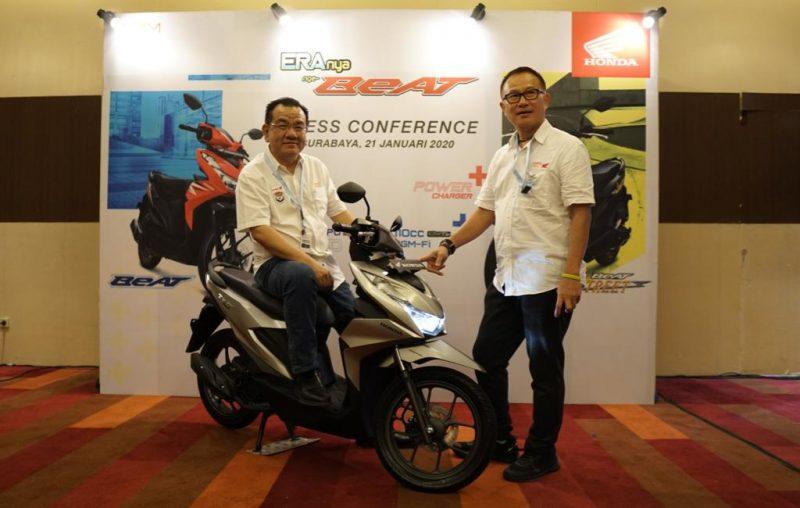 All New Honda BeAT Series Dengan Teknologi Baru Meluncur Di Jawa Timur