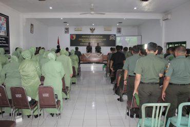 Penyuluhan Hukum Kepada Prajurit TNI, PNS dan Persit Jajaran Kodim 0833/Kota Malang