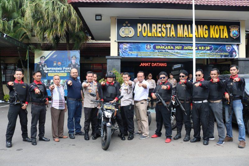 Polresta Malang Kota Bentuk Singo Arema Police Basmi Curanmor