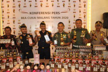 Dandim 0833/Kota Malang Ikuti Coffee Morning Bea Cukai Malang