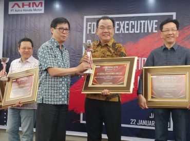MPM Raih Best Of The Best Public Relation Honda Award 2019