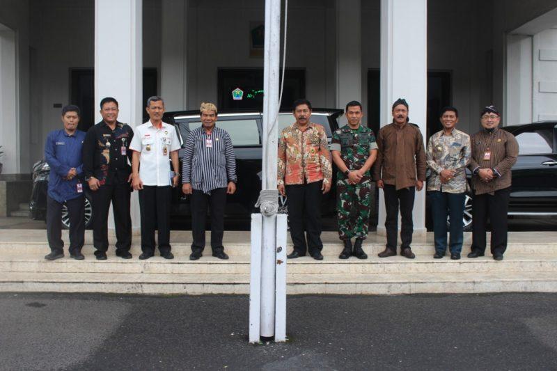 Dandim 0833/Kota Malang Sambut Tim Kemenko Polhukam