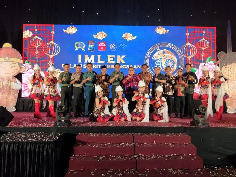 Dandim 0833 Kota Malang Dampingi Danrem 083/ Bdj Ramaikan Imlek Kebangsaan Tionghoa Malang Raya