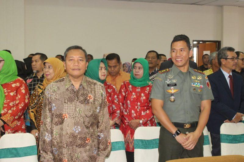 Dandim 0833/Kota Malang Hadiri Kuliah Tamu Menteri Sekretaris Kabinet RI di UB