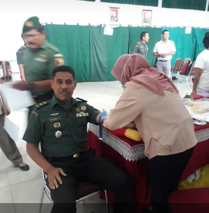 Puluhan Prajurit Kodim 0833 Kota Malang Jalani Tes Kesehatan