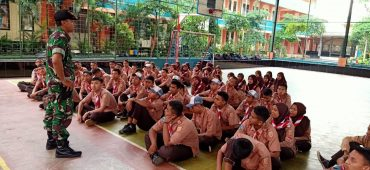 Puluhan Siswa Ikuti Pembinaan Pramuka Saka Wira Kartika