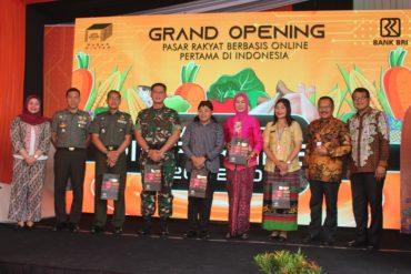 Dandim 0833/Kota Malang Hadiri Grand Opening Pasar Pintar Joyo Agung