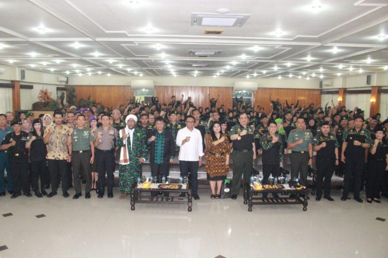 Dandim 0833/Kota Malang Apresiasi Pembentukan HIPAKAD DPC Malang Raya
