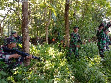 Kodim 0833/Kota Malang Gelar Hanmars di Wilayah Kelurahan Buring Kedungkandang