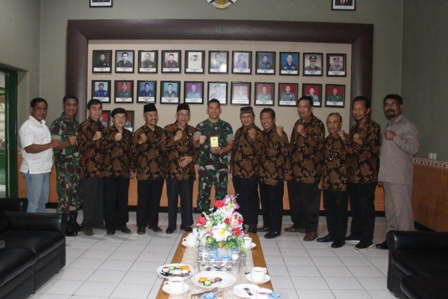Dandim 0833/Kota Malang sambut Rombongan FKUB di MaKodim 0833/Kota Malang
