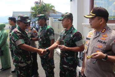 Dandim 0833/Kota Malang Sambut kedatangan Panglima TNI