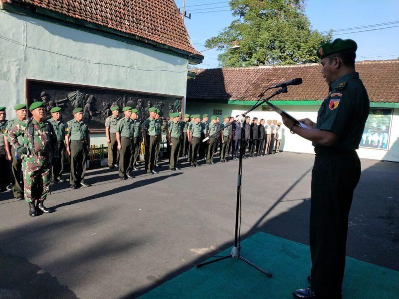 Kasdim 0833 Kota Malang Ingatkan TNI Jalin Sinergitas Bersama Polri dan Pemda