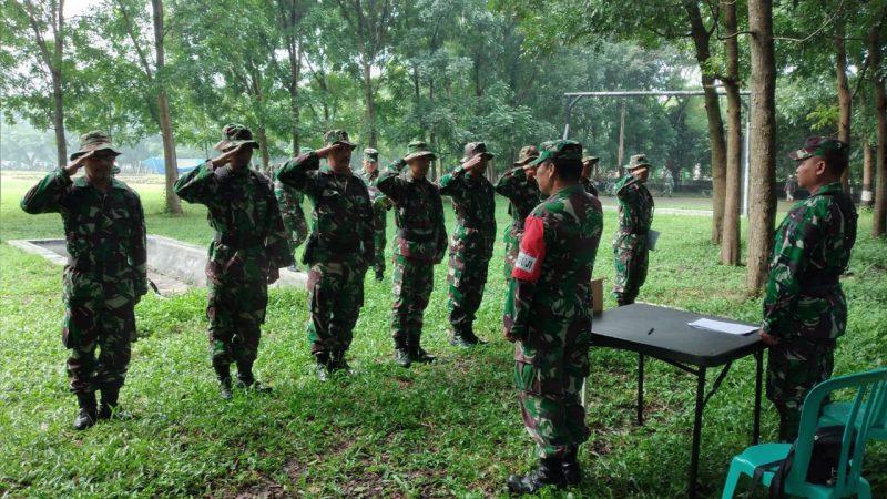 Tingkatkan Kemampuan Prajurit, Kodim 0833/Kota Malang Gelar UTP Umum Teritorial