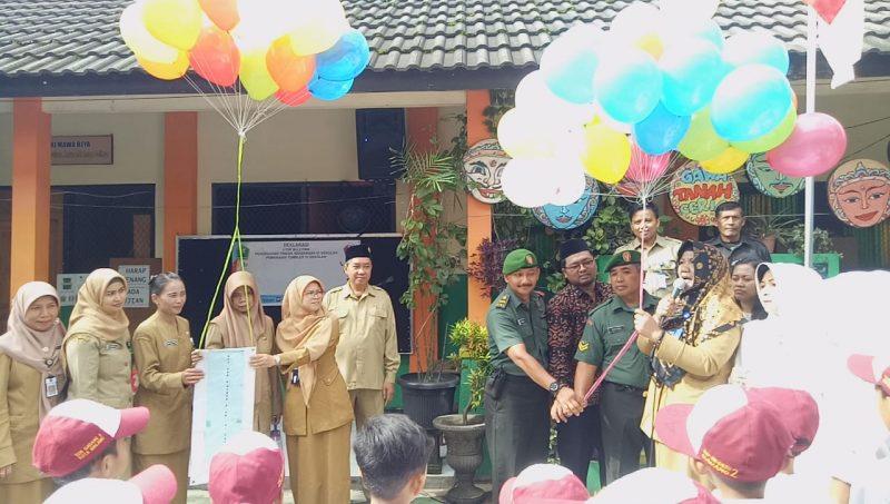 Siswa SDN Gadang II Kota Malang Dibentuk dan Deklarasi Anti Bullying