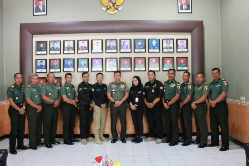 Dandim 0833/Kota Malang Menerima Kunjungan Silaturahmi Public Safety Center (PSC1 119) Dinas kesehatan Kota Malang