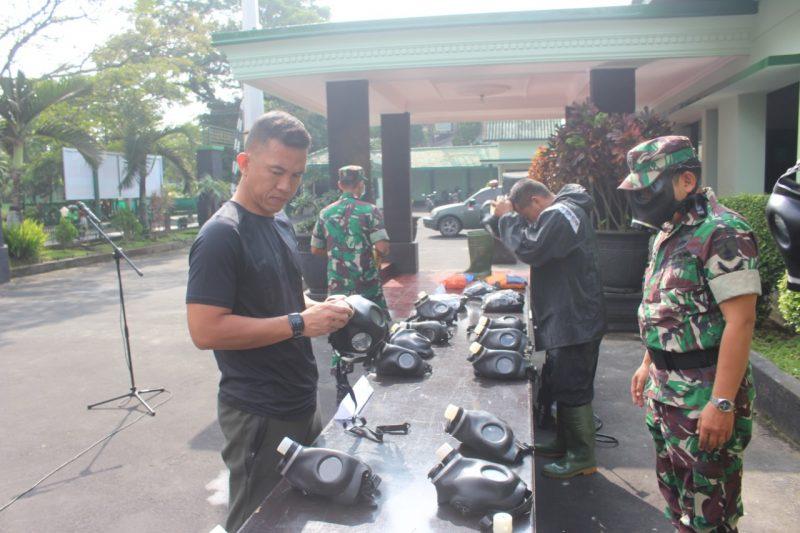 Kodim 0833/Kota Malang Gelar Alat Perlengkapan Pencegahan dan Penanggulangan Wabah Covid-19
