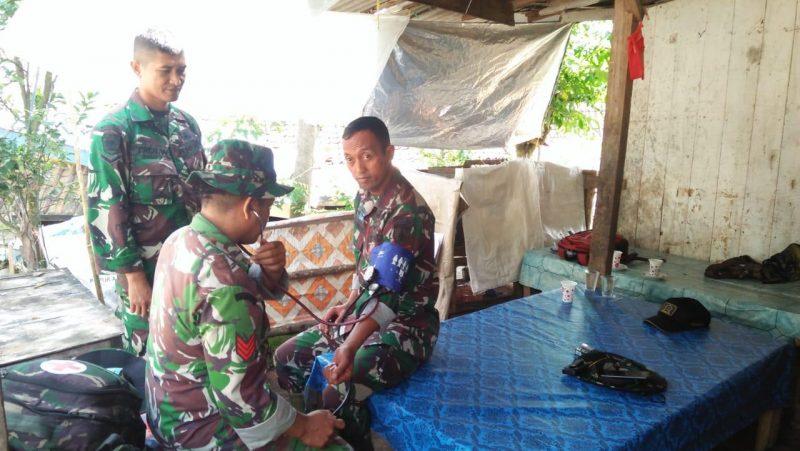 Satgas TMMD 107 Harus Dalam Kondisi Prima Melayani Masyarakat
