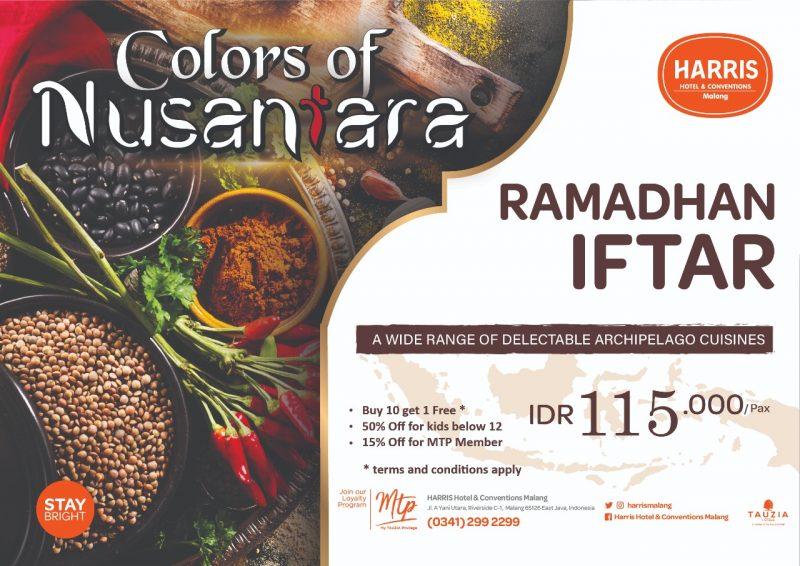 HARRIS Hotel & Conventions Malang Sambut Bulan Ramadhan Dengan Tema Colors of Nusantara