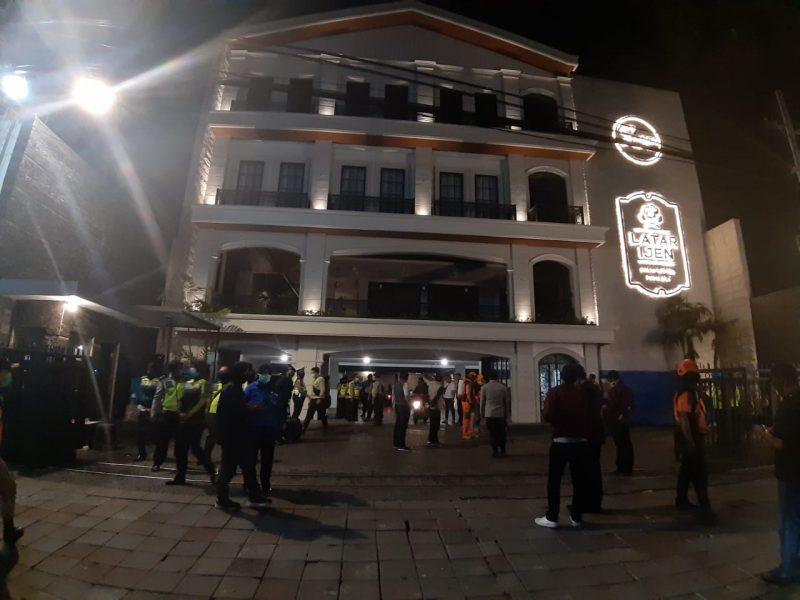 Dandim 0833/ Kota Malang Pimpin  Operasi Gabungan guna mengurangi penyebaran Covid-19