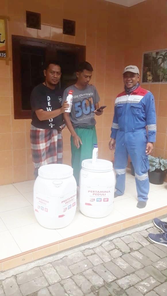 Suryadi Gandeng Pertamina Peduli terhadap Pencegahan dan Melawan COVID-19 di Kota Malang