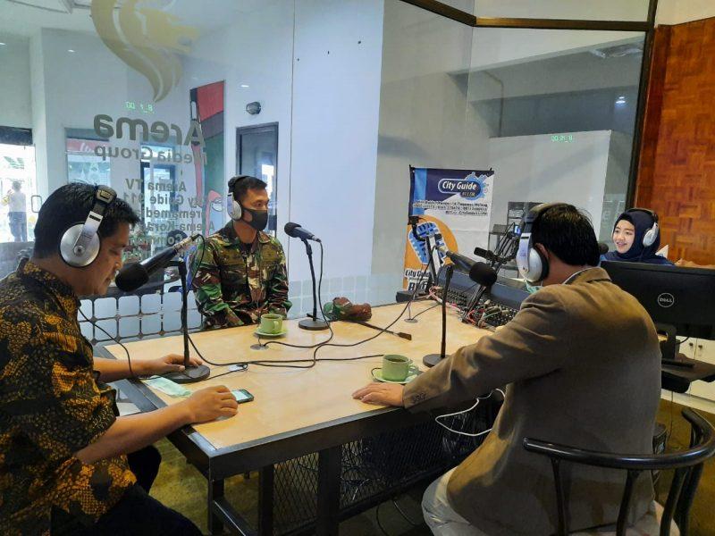 Dandim 0833/Kota Malang Ingatkan Masyarakat Saling Memberikan Solusi dan Kenakan Masker Saat Keluar Rumah