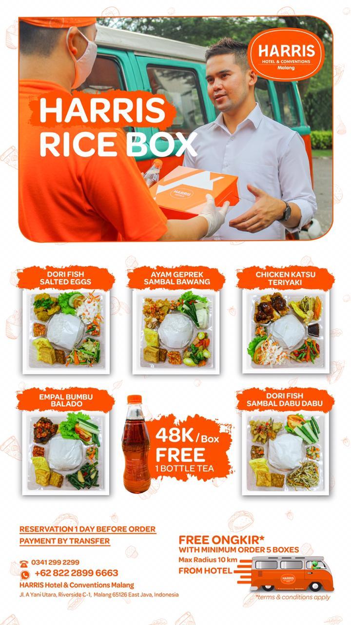 HARRIS Hotel & Conventions Malang Sediakan Paket Food Delivery dari HARRISSIMO PIZZERIA dan AH YAT Abalone Malang