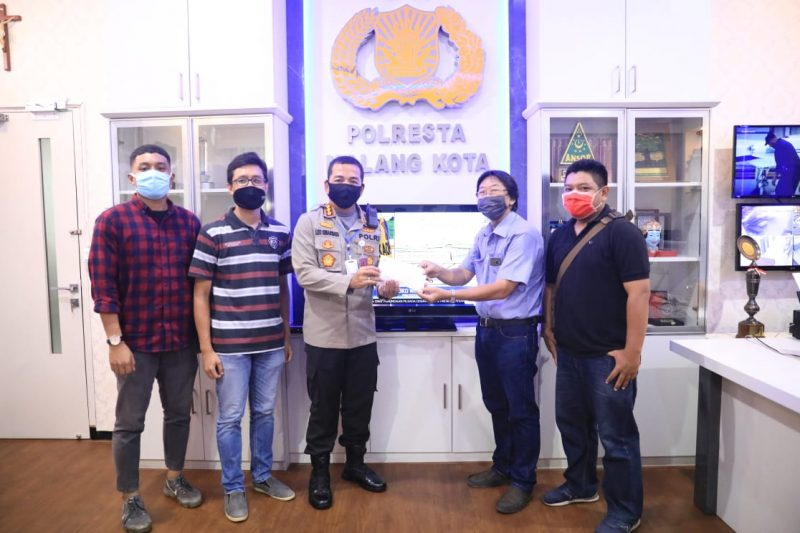 Aksi Paskah GKI Tumapel Turut Bantu Dapur Umum Polresta Malang Kota